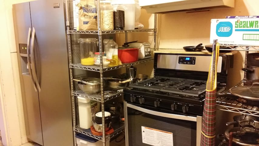 Full kitchen for your cooking