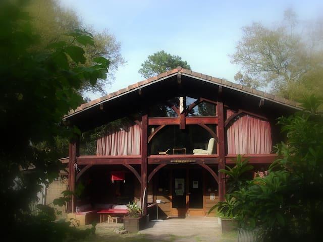 maison d'artiste - bord de mer-chambre célibataire - Messanges - Dom