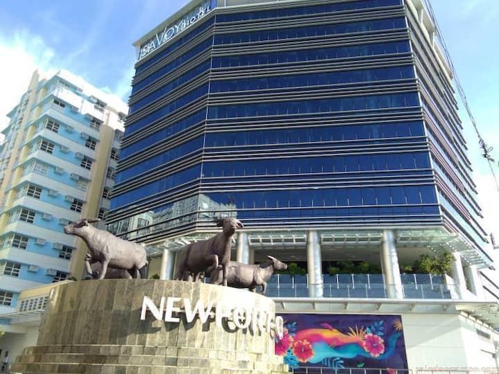 New hotel in Newport City