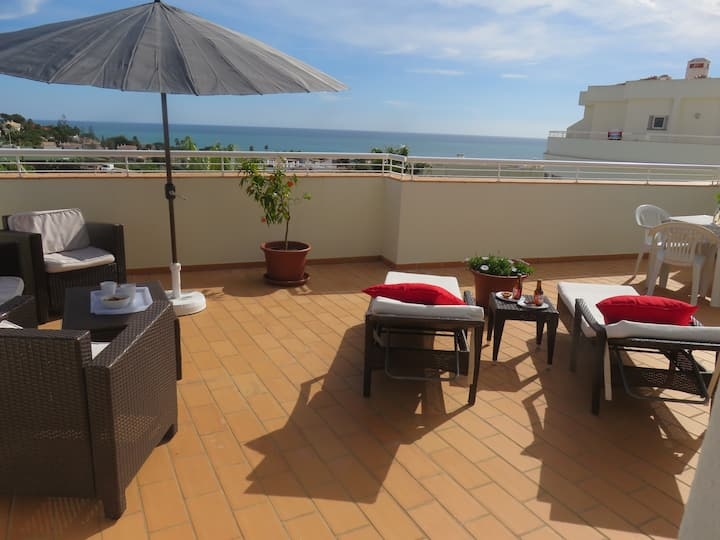 Sea view apartment near Porto de Mós beach - Lagos