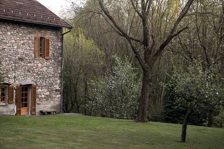 Casa di campagna tra i laghi - Barquedo - Huis