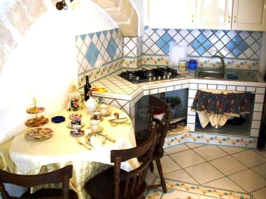 piano terra cucina