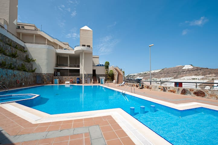 beautifull luxux duplex with view - Mogán - Huis