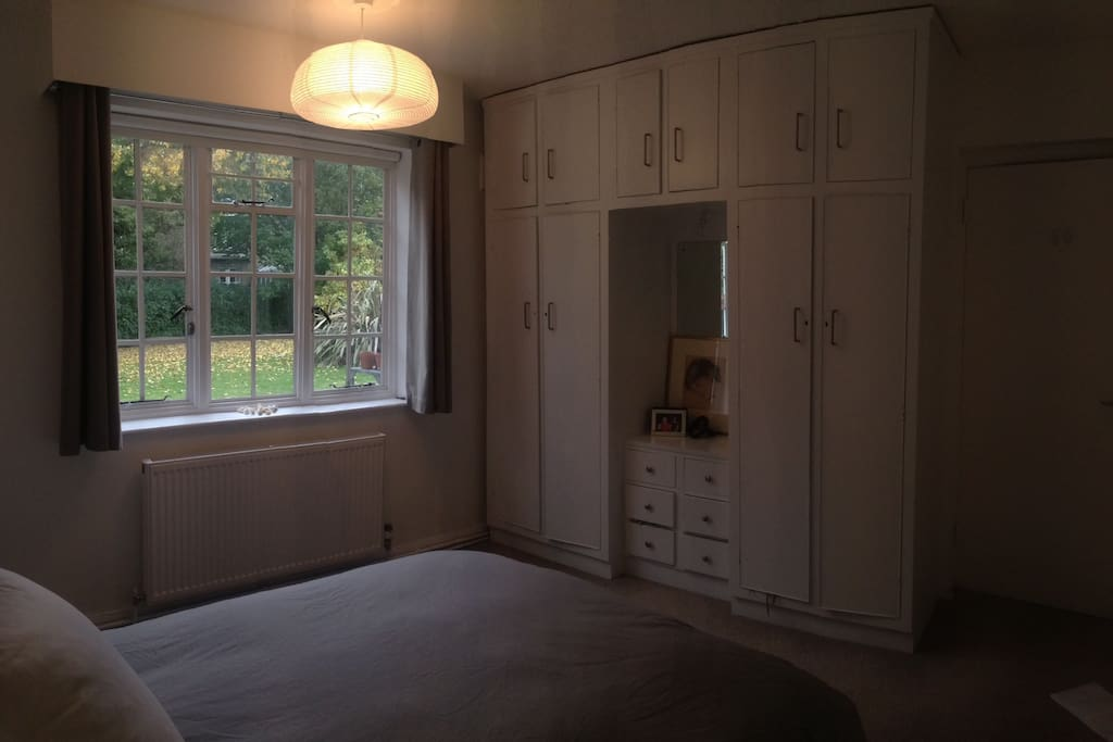 Bedroom - plenty of storage space!