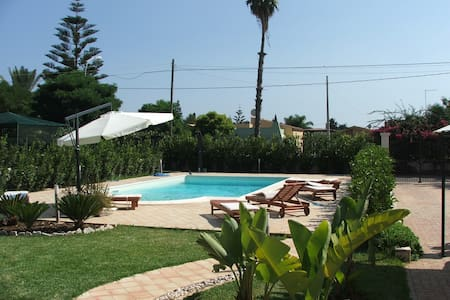 Holiday House with pool and WiFi - Arenella