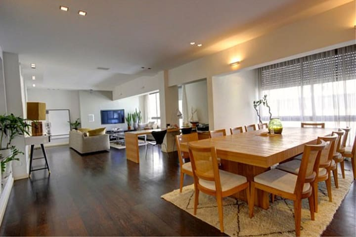 3BD luxurious apartment - Tel Aviv Hayarkon st
