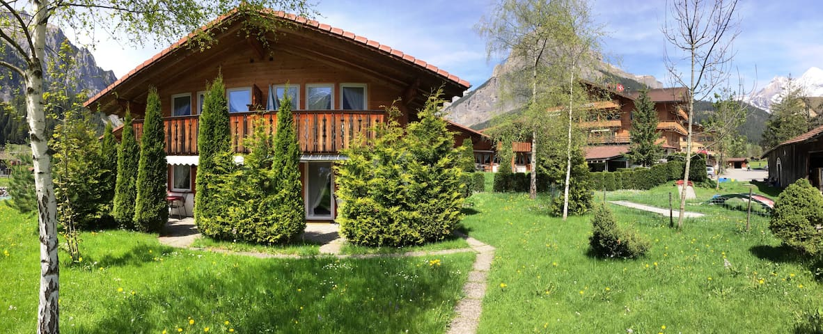 Cosy Apartment in Kandersteg - Kandersteg - Apartmen