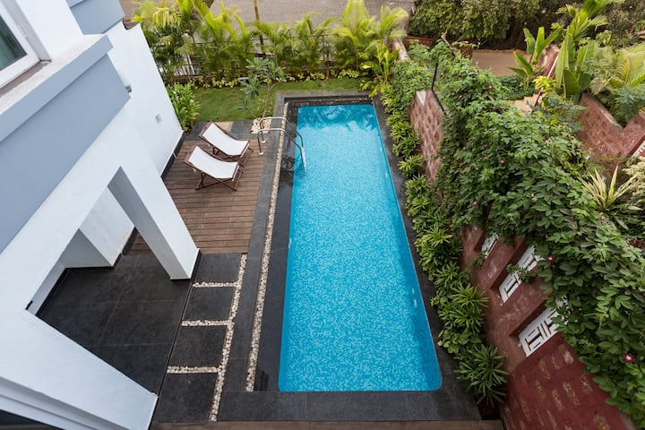 Scapes Luxury Villa Graca-3BR with Pvt Pool @ Goa