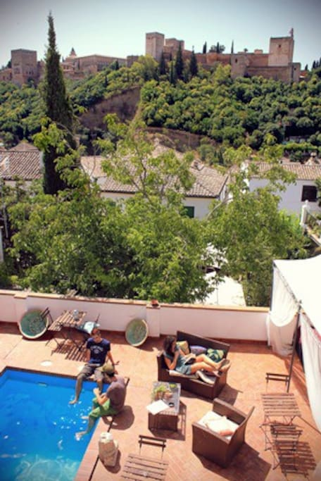 Pool Suite with Alhambra view !