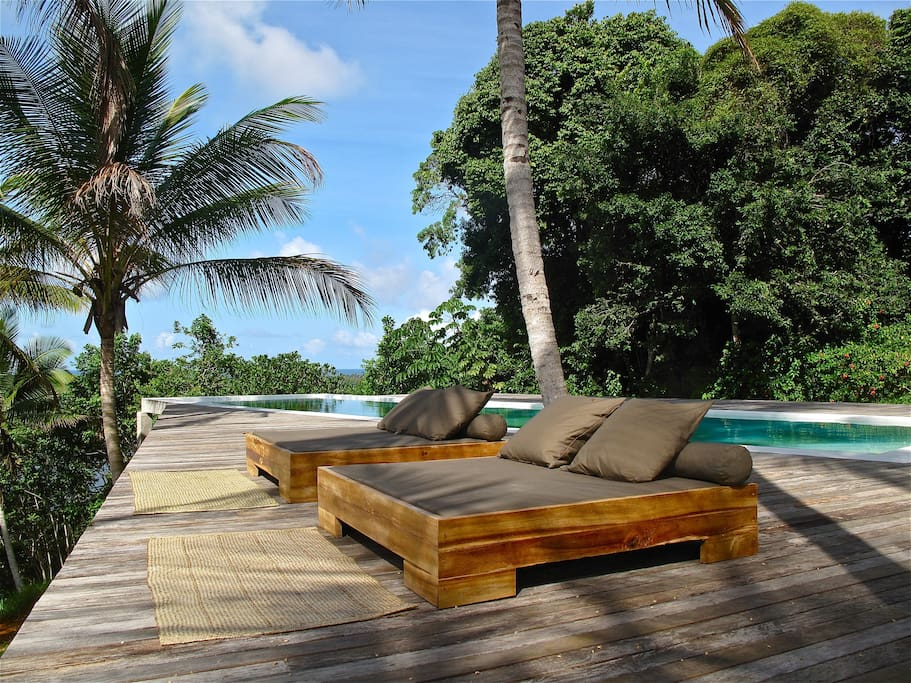 DayBeds at Sunset Deck