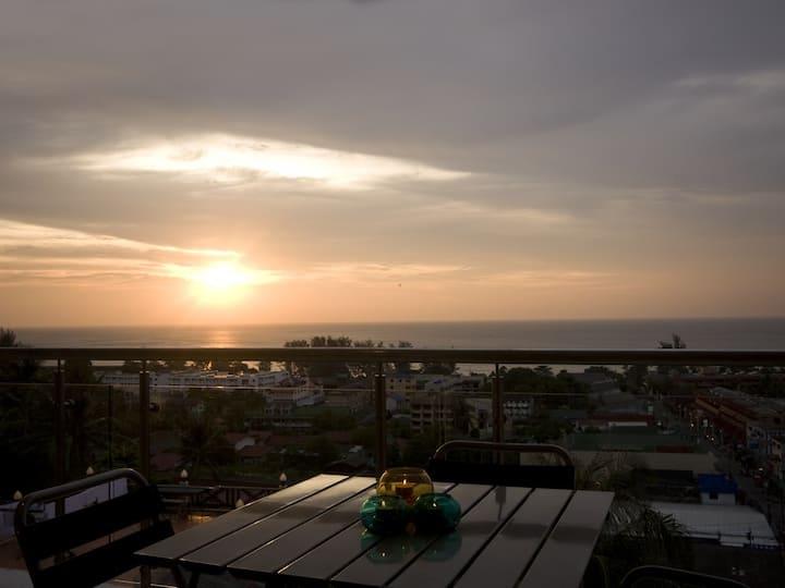 2BR Panorama Seaview in Karon Beach