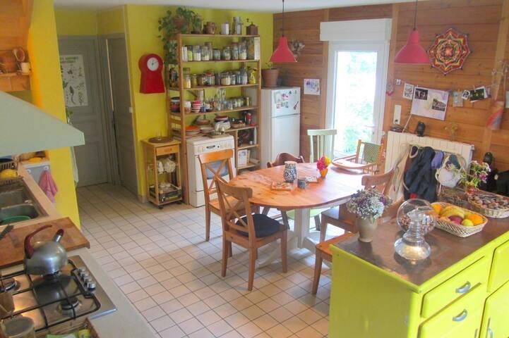 Maison familiale au pied des Pyrénées