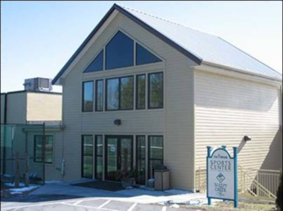 The Community Recreation Complex - We provide a complimentary one visit pass!