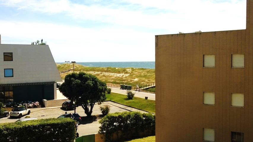 T2duplex com piscina, junto ao mar - Vila do conde - Wohnung