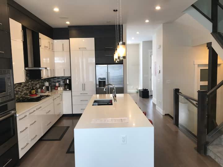 Modern  Calgary inner-City home