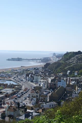 Cosy flat a stone's throw from sea - Hastings - Appartement