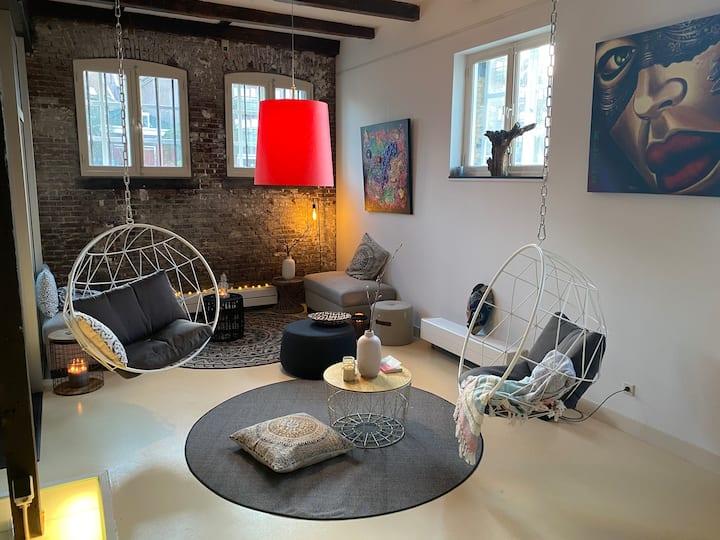 Prachtige loft ruimte in historisch Schiedam