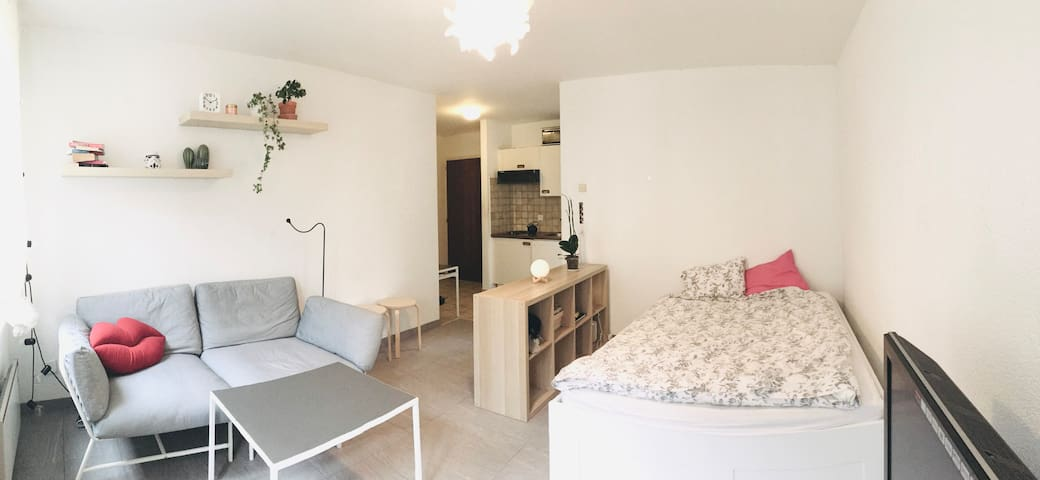 Cosy Studio for 2 in the heart of Lausanne