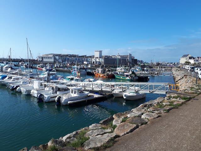 Petite maison de pêcheur au coeur de La Turballe
