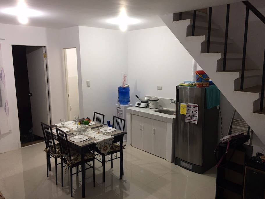 1st Floor Dining, Kitchen area and Toilet.