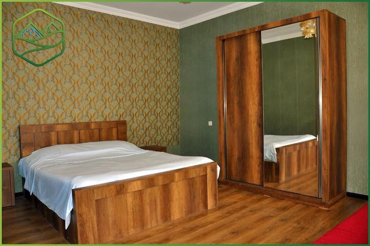 for 4 person. shared bothroom