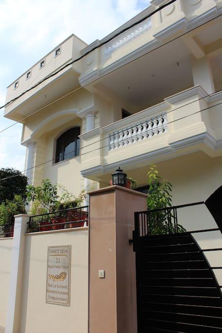 Shanti Vilas Homestay Exterior