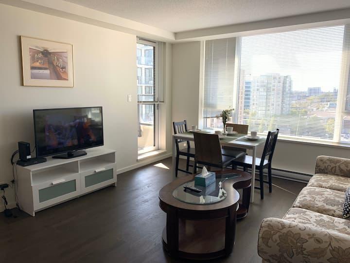 Spacious new condo 2bdr suite in center Richmond
