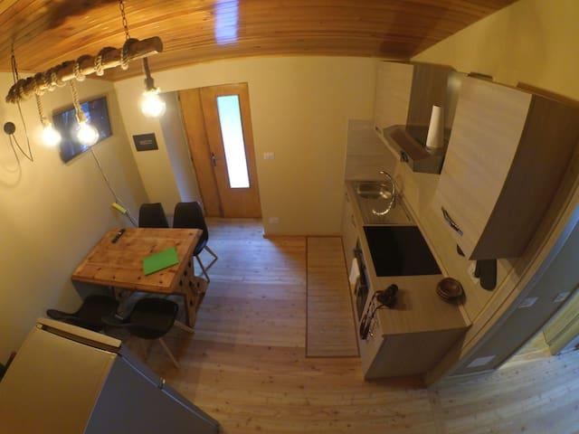 Casa Curnet appartamento con 2 camere da letto