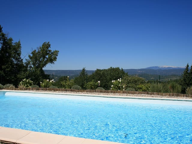 Lovely detached house in private grounds - Bonnieux - Casa