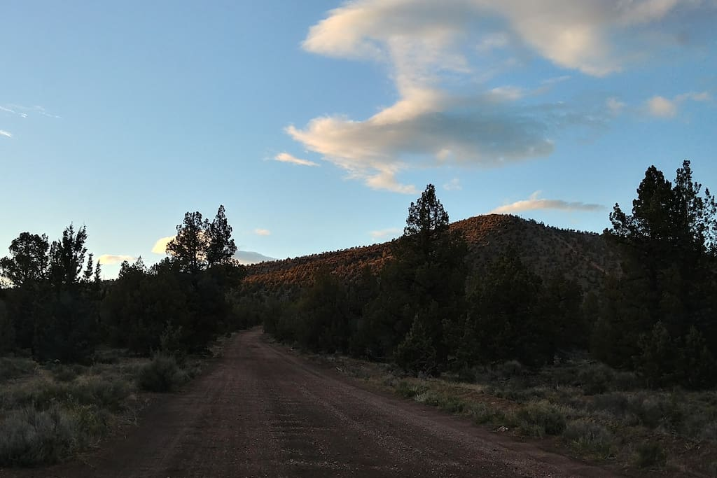 View of cline butte