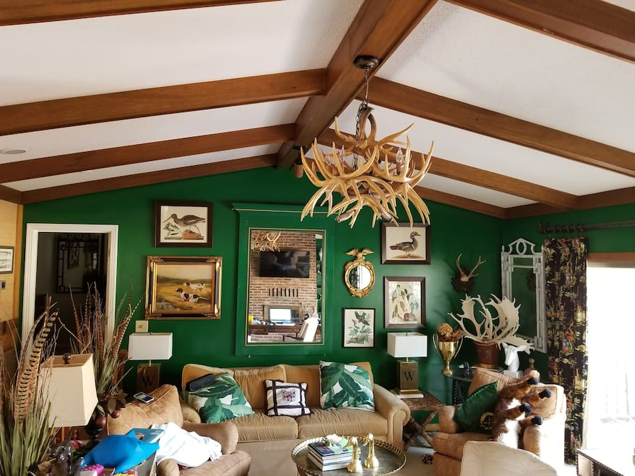Vintage Décor Overlooking the Green