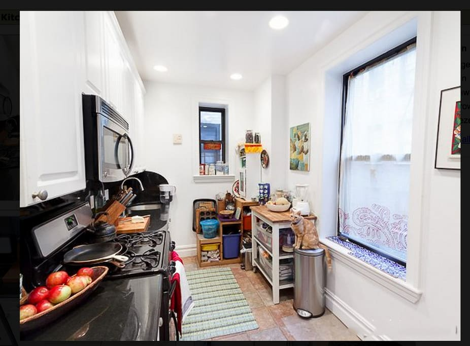 Full Kitchen, everything you need