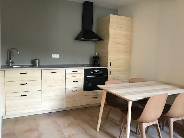 Fully equiped apartment in old village house