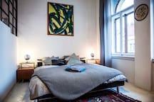 Comfortable sleeping area