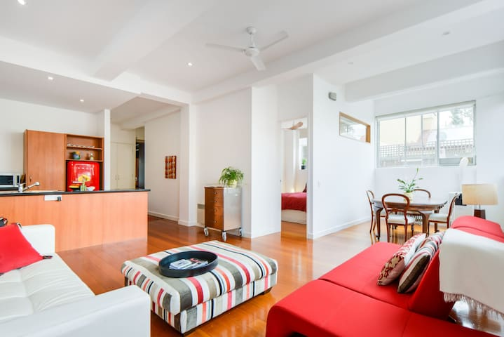 CENTRE OF  FITZROY, WAREHOUSE CONVERSION, 2BR