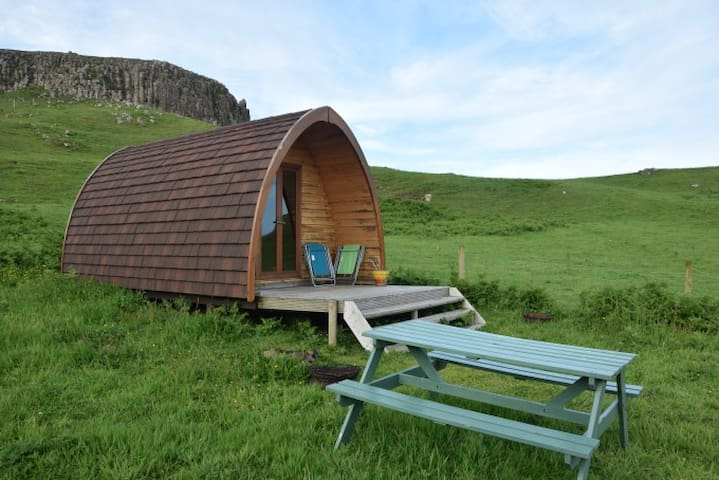 Puffin Camping Pod  Isle of Canna