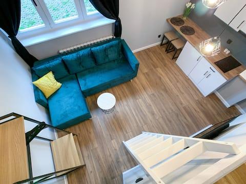 Kolna Apartment 1C with river view