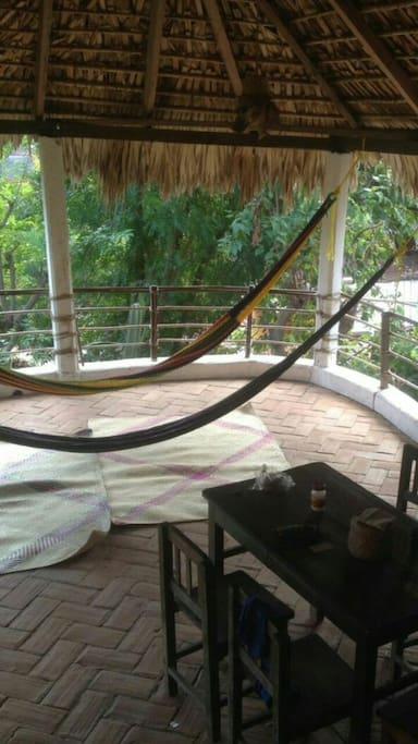 Area de estar /resting area