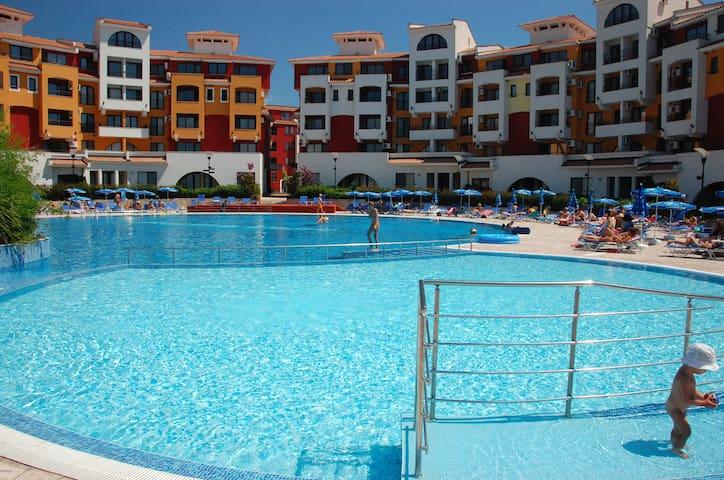 Visit Sunny Beach Terezka Sea and Pool View Studio