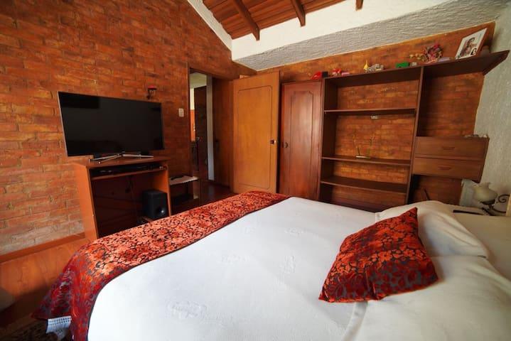 En linda Casa Campestre, Cómoda habitación