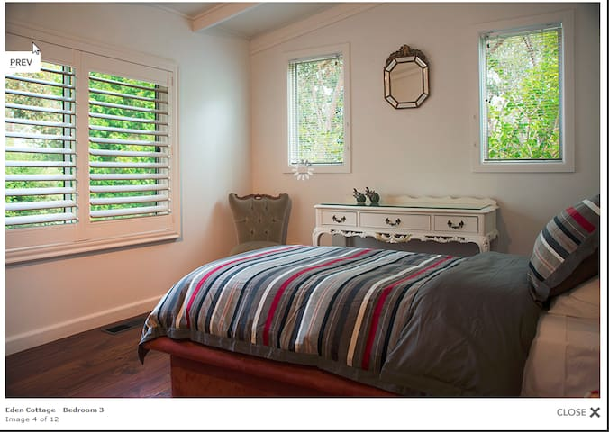 The single (3rd) bedroom where your children can take refuge and play games with a good view out to the front garden
