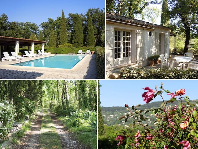 Cosy holiday home near Grasse -Iris - Peymeinade - Talo