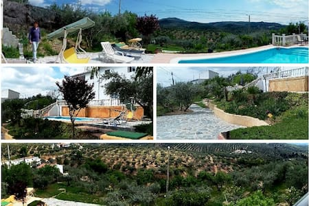 Rural property with pool and views - Alcalá la Real - 단독주택