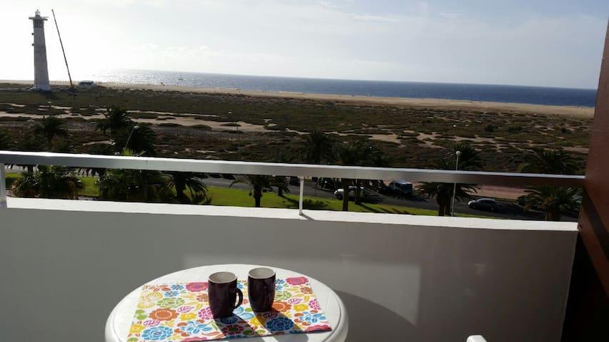 Estudio apartamento 1ª linea de playa 4ª planta - Morro Jable - Apartamento