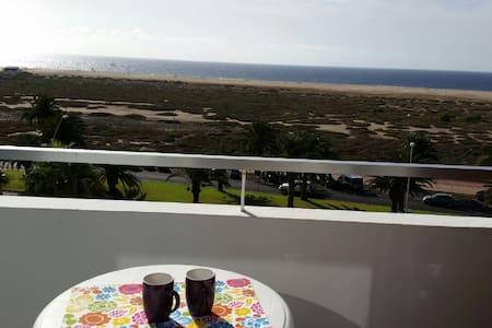 Estudio apartamento 1ª linea de playa 4ª planta - Morro Jable - Lägenhet