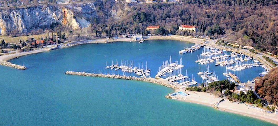 Appartamento e giardino terraza vista mare - Sistiana