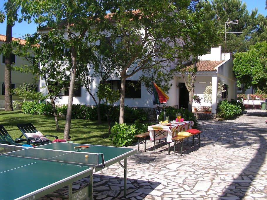 pr s de la plage lisbonne 20km bbq maisons louer verdizela portugal. Black Bedroom Furniture Sets. Home Design Ideas