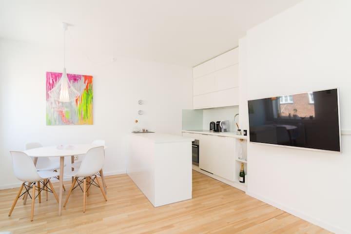 Modern apartment near city & beach