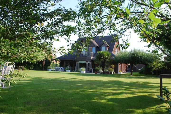 Villa bois red cedar 10 personnes