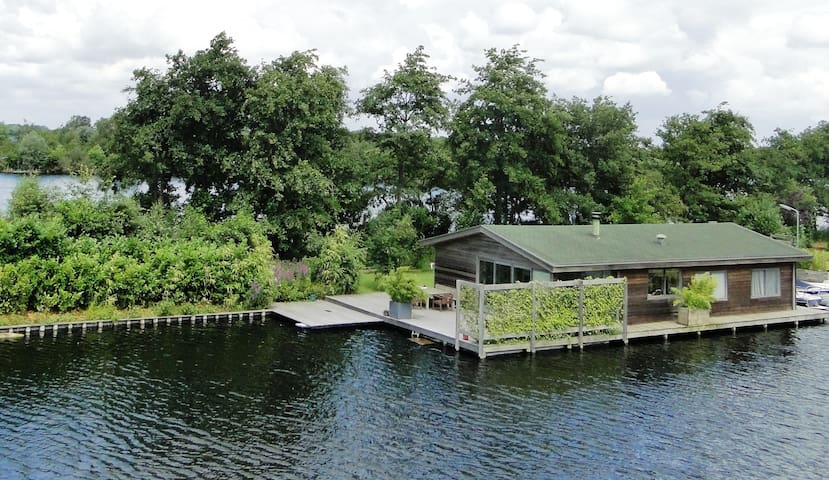 Boathouse at stunning location - Vinkeveen - House